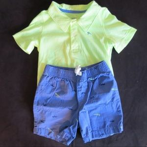 Carter's Two Piece Shorts Set